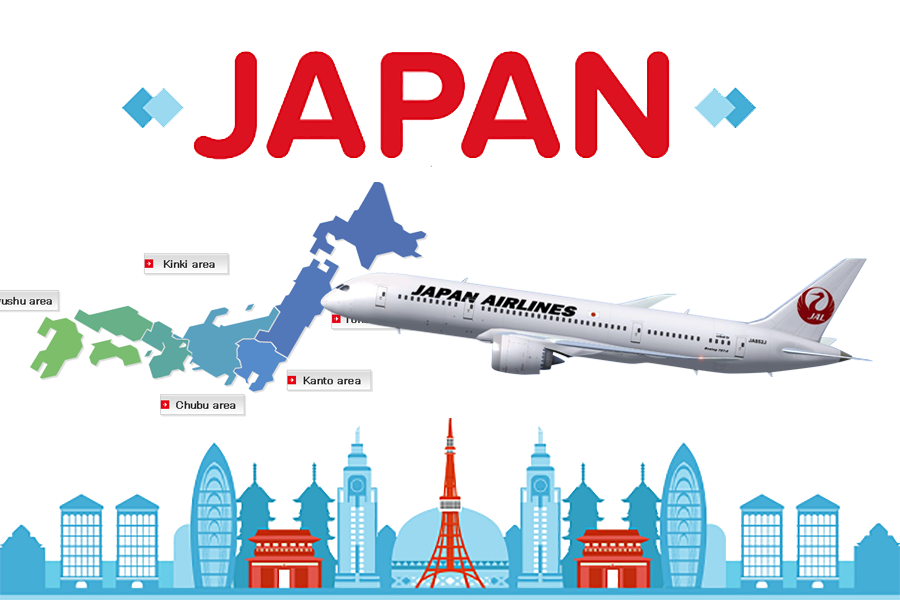 Express delivery service to japan