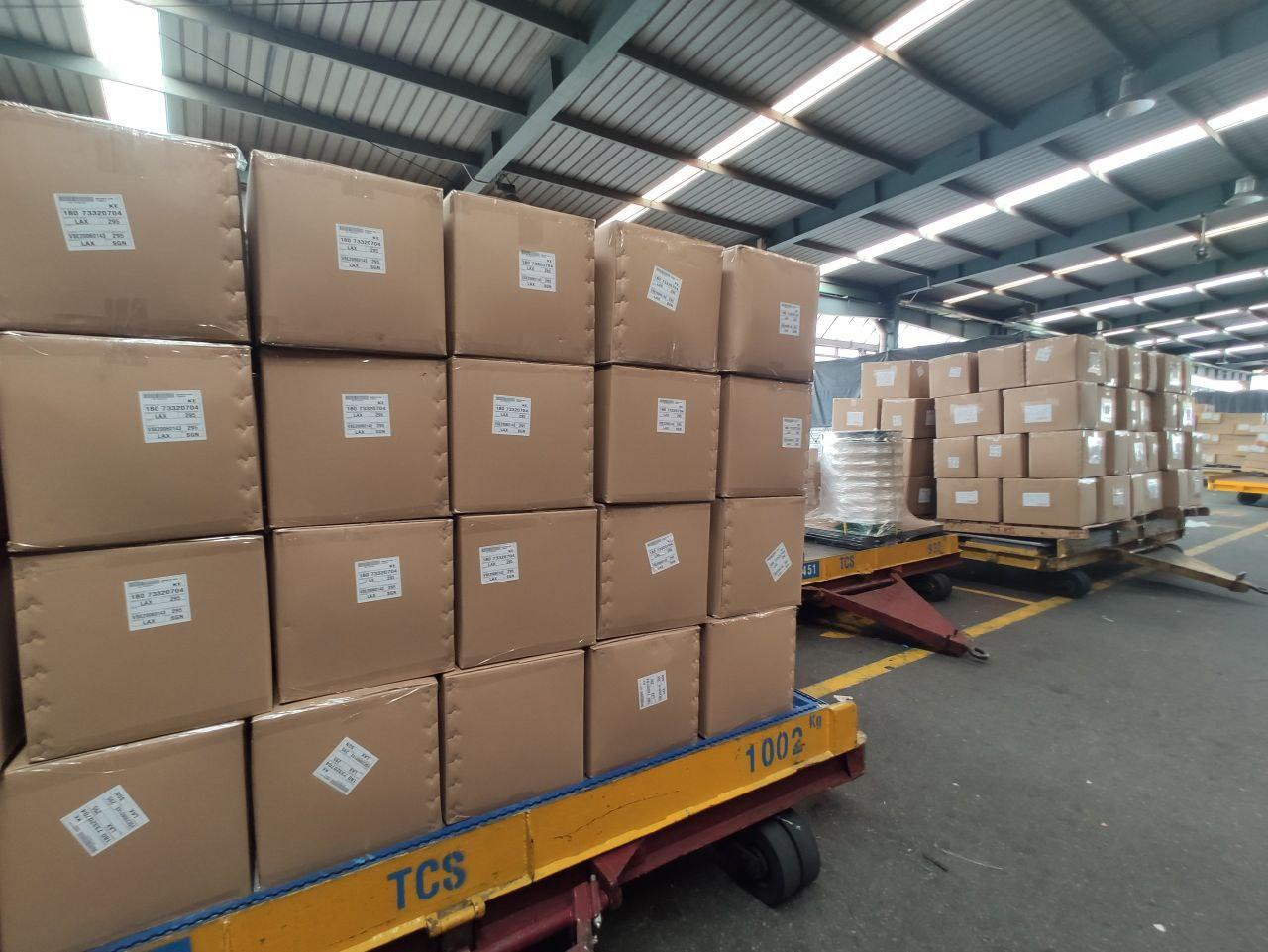 Airport Cargo's packing service