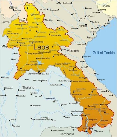 Chuyển phát nhanh thực phẩm chức năng đi Lào