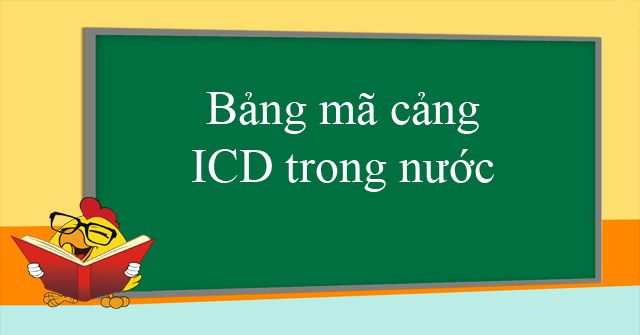 bảng mã cảng icd
